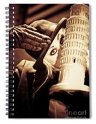 Mysteries Of Italy Spiral Notebook