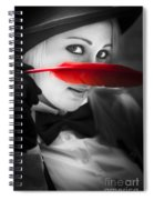 Mystery In Nature Spiral Notebook