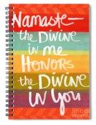 Namaste  Spiral Notebook