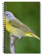 Nashville Warbler Vermivora Ruficapilla Spiral Notebook