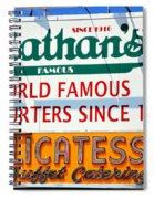 Nathan's Sign Spiral Notebook