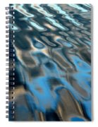 Natural Water Abstract Spiral Notebook