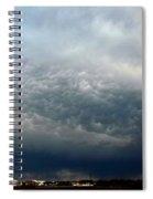 Nebraska Mammatus A Cometh Spiral Notebook
