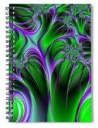 Neon Fantasy Spiral Notebook
