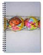 Net Balls Spiral Notebook
