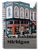 New Baltimore Michigan Spiral Notebook
