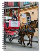 New Orleans - Carriage Ride Spiral Notebook
