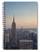New York City - Empire State Building Spiral Notebook