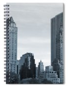 New York City From Central Park Spiral Notebook