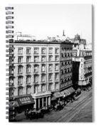 New York City Hotel Spiral Notebook