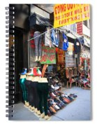 New York City Storefront 8 Spiral Notebook