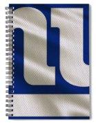 New York Giants Uniform Spiral Notebook