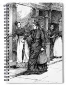 New York Milliner, 1889 Spiral Notebook