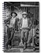 Newman And Redford Spiral Notebook