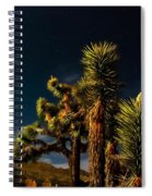 Night Desert Spiral Notebook