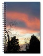 Night Falling Spiral Notebook