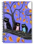 Night Owls Spiral Notebook
