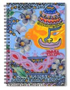 Nirvana Equals Absolute Happiness Spiral Notebook