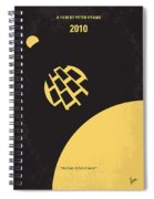 No365 My 2010 Minimal Movie Poster Spiral Notebook