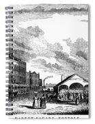 Norfolk, Virginia, 1856 Spiral Notebook