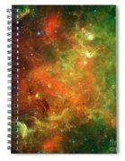 North America Nebula Spiral Notebook