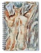 Nude Figure Spiral Notebook