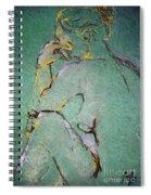 Nude IIi  Spiral Notebook