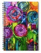 Number Vi Spiral Notebook