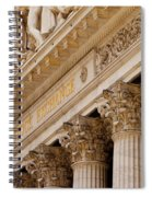 Ny Stock Exchange Spiral Notebook