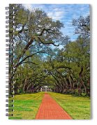 Oak Alley 3 Spiral Notebook
