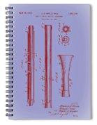 Oboe Patent 1931 Spiral Notebook