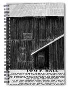 Odd Fellows Historical Building Spiral Notebook