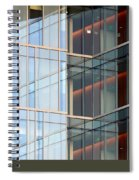 Office Building Windows Spiral Notebook