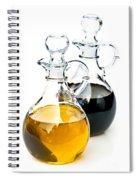 Oil And Vinegar Spiral Notebook