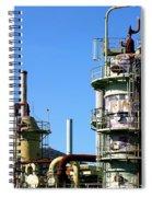 Oil Refinery Spiral Notebook