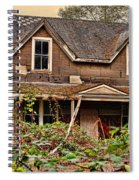Old Abandon House Spiral Notebook