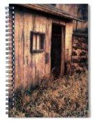 Old Barn Door Spiral Notebook