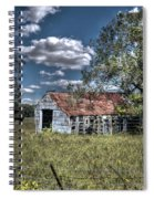 Old Barn Spiral Notebook