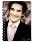 Old Fashion Business Service With A Smile Spiral Notebook