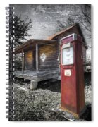 Old Gas Pump Spiral Notebook