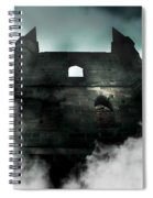 Old Haunted Castle Spiral Notebook