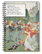 Old King Cole Spiral Notebook