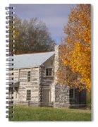Old Log House Spiral Notebook