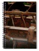 Old Farm Machine Spiral Notebook