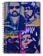 Old School Hip Hop 3 Spiral Notebook