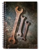 Old Spanners Spiral Notebook