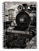 Old Steam Lock  Spiral Notebook