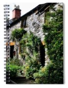Old Terrace Houses - Peak District - England Spiral Notebook