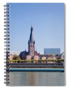 Old Town With Lambertus Church Spiral Notebook