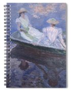On The Boat Spiral Notebook